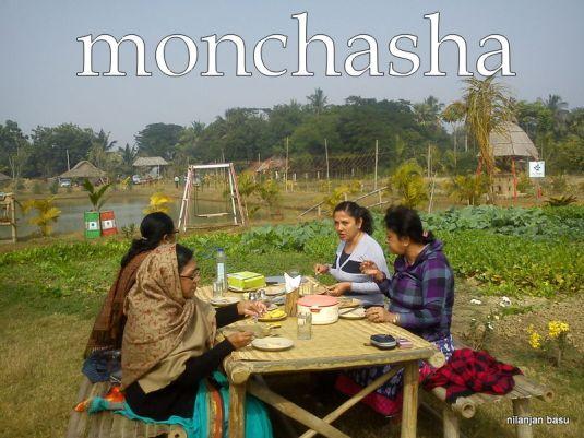 Breakfast under sky @ monchasha