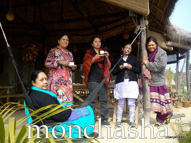 """It's tea time @ """"monchasha"""""""