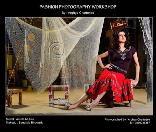 Fashion Photography Workshop By Arghya Chatterjee