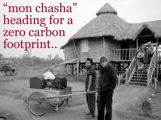 """mon chasha"" is heading for a zero carbon footprint project"