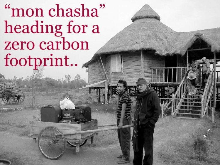 """""""mon chasha"""" is heading for a zero carbon footprint project"""