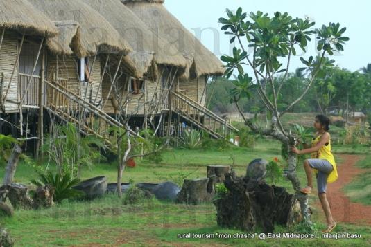 "Bamboo Huts of ""mon chasha"""