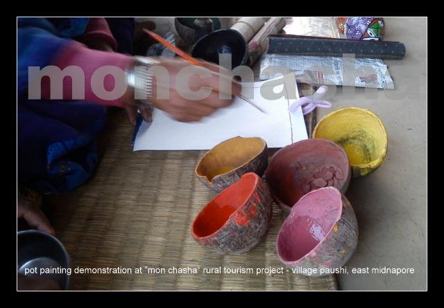 Monchasha Pot Painting Demo1