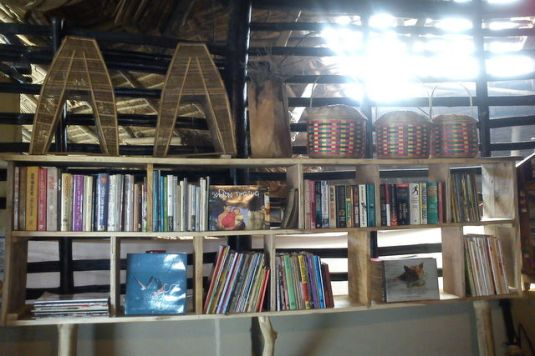 The New Book Library @ Monchasha