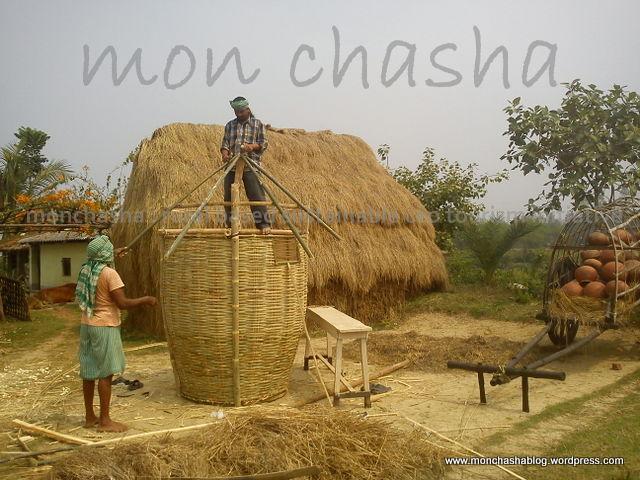 """Dhaner Morai :: Grain Storage @ """"Mon Chasha"""""""